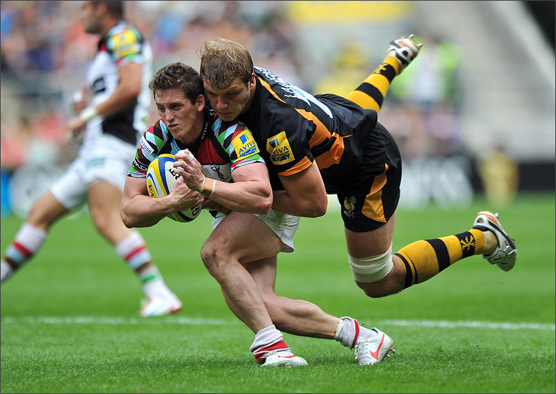Joe Launchbury and Tom Williams